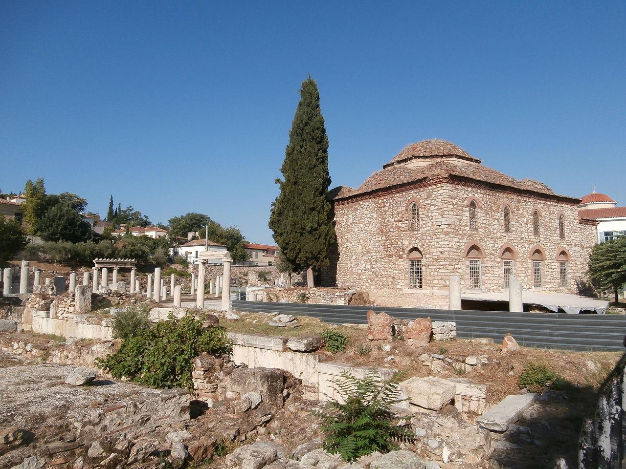 Плака (Афины, Греция) — описание, история, расположение