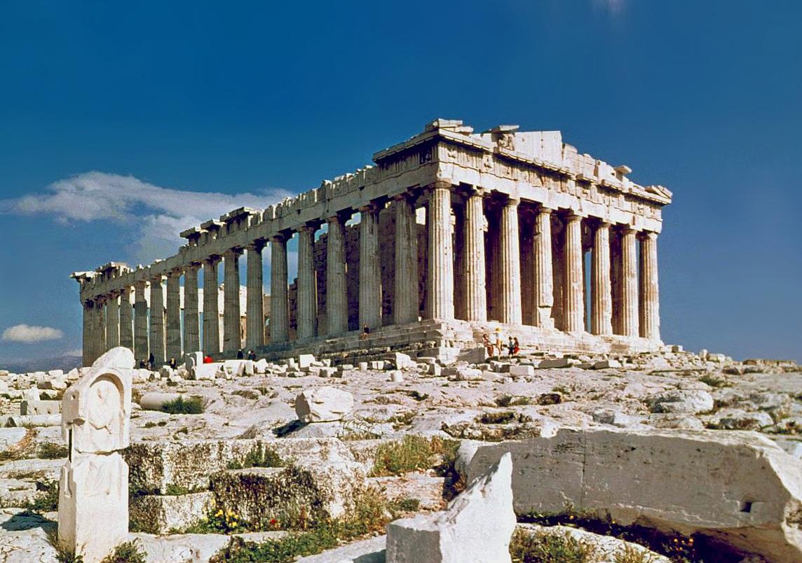Парфенон в Афинах (Греция) — описание, история, расположение