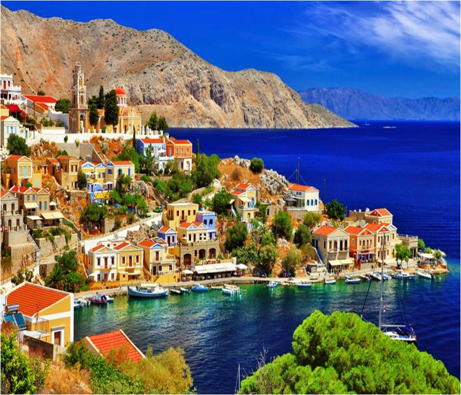 Сими - соната Эгейского моря